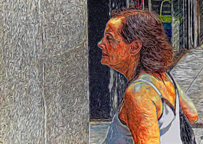 WOMAN IN THE STREET835